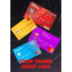 CHANGE COLOR CREDIT CARD